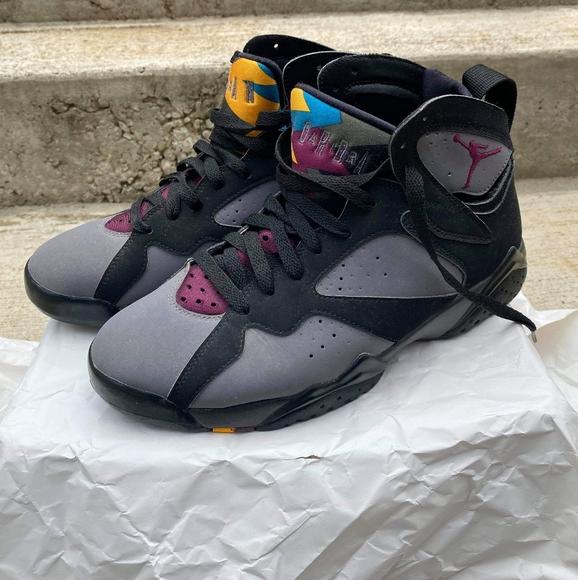 Jordan Shoes   Air Retro 7 Bordeaux